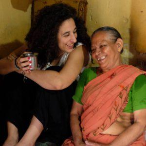 Marta Fernández Turu en Kerala - Ramuni Paniker (1)